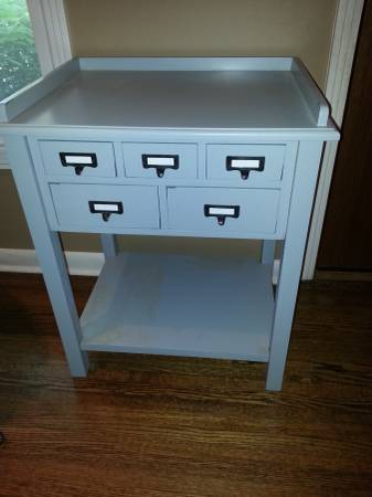 World Market Accent Table $80  - This table retails for $169.99 at  World Market .