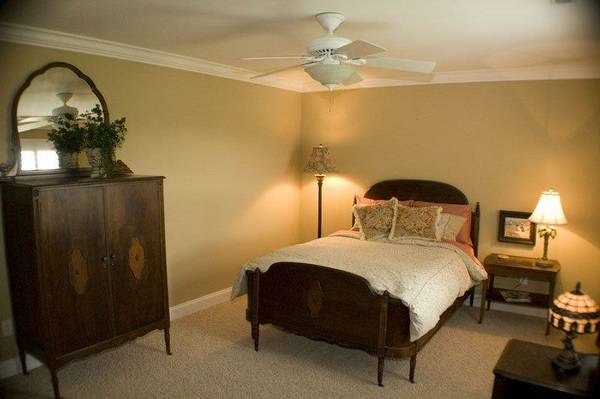 Antique Bedroom Set $600  - Set includes bed, dressing table, the armoire and the dresser.