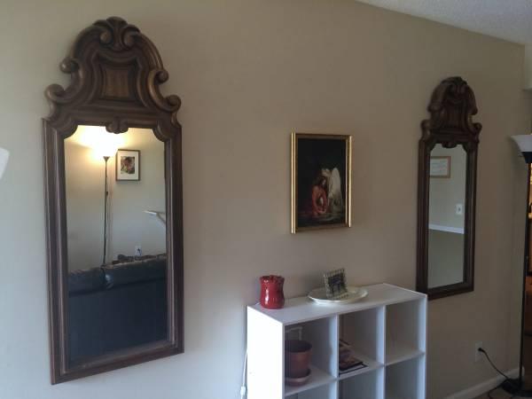 Pair of Mirrors $20