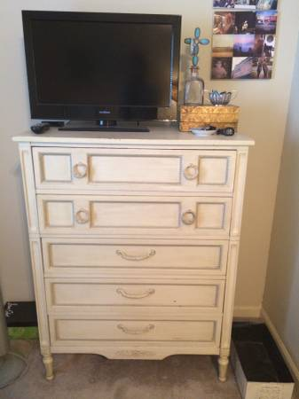 Dresser $125  - This is a cute dresser and its already been painted.