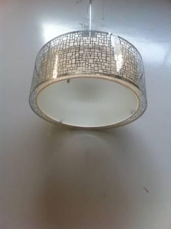 Modern Hanging Light $30