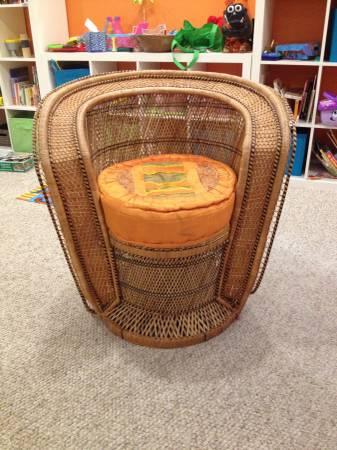 Wicker Chair $40