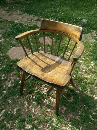 Antique Wood Chair $10