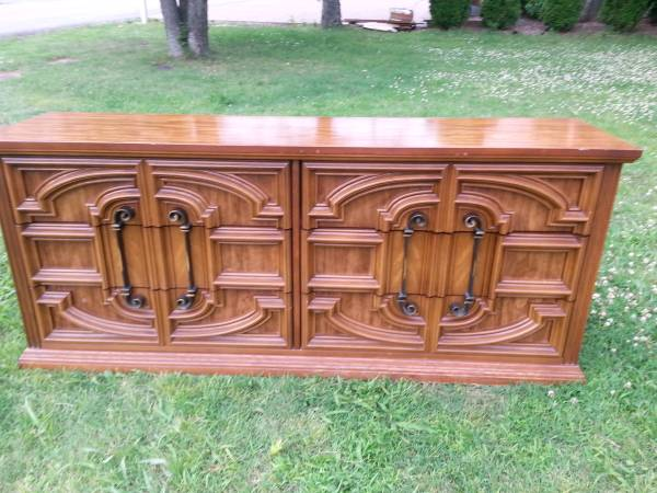 Dresser $85  - This dresser would look great painted.