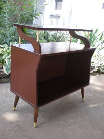 Unique Vintage Cabinet $60  - This is truly a unique piece, but I think it could be a cool addition to a room if styled well. Could be a fun buffet, or bookcase or even set up like a bar.