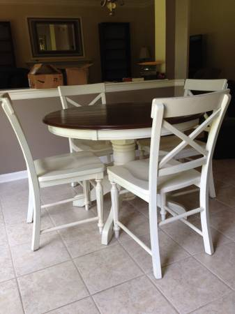 Kitchen Table and Chairs $175 - This is a good basic set.