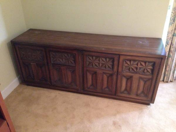 Credenza/Buffet $75 - This piece just need a coat of paint.