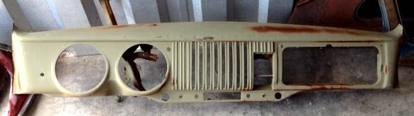 1954 Chevy Truck Dashboard $45 - This would be a great piece to hang on the wall.