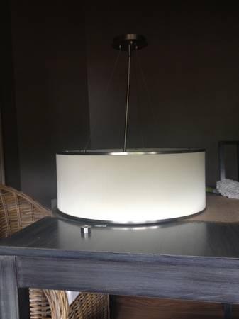 Drum Pendant Light Fixture $40