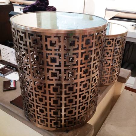 Z Gallerie Side Tables     $125 pair