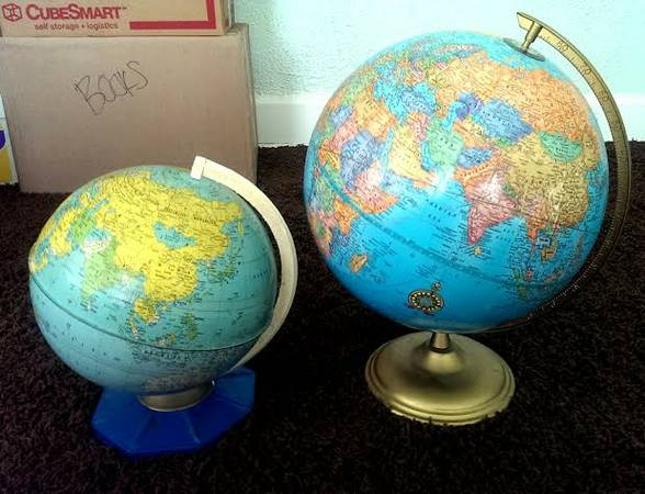 Globes     $10 each
