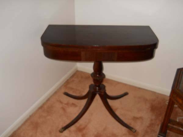 Vintage Game Table     $135