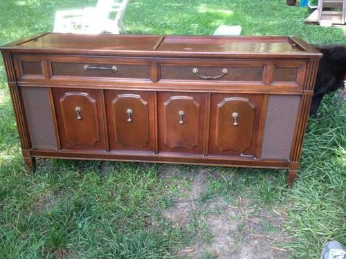 Vintage Radio Console     $150     View on Craigslist