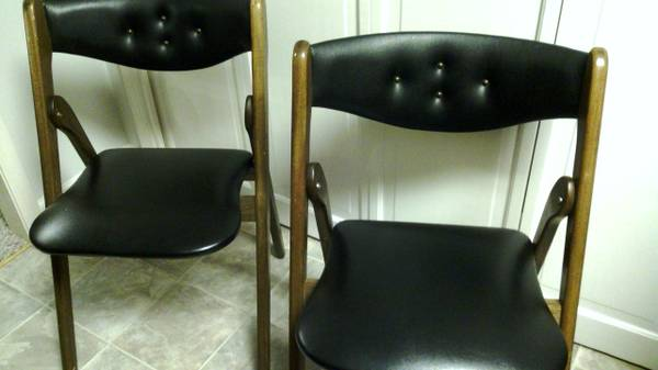 Mid Century Folding Chairs     $50     View on Craigslist