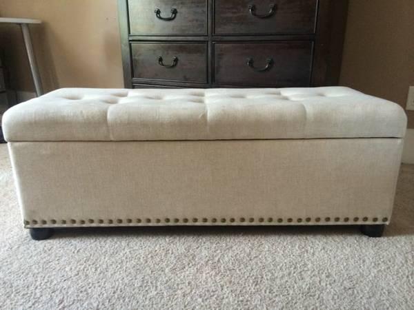 Storage Bench     $25     View on Craigslist