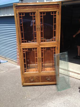 Thomasville Cabinet     $75   I think this piece would look great painted.    View on Craigslist