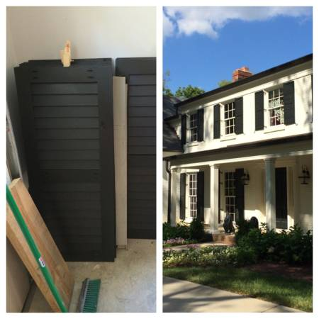 Cypress Shutters     $100/pair   Seller has several pairs of new shutters - they are the wrong size. Original price was $300/pair.     View on Craigslist