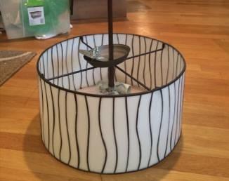 Drum Shade Chandelier     $35     View on Craigslist