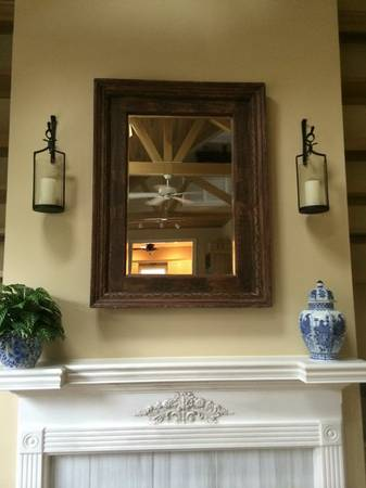 Wood Framed Mirror     $150     View on Craigslist