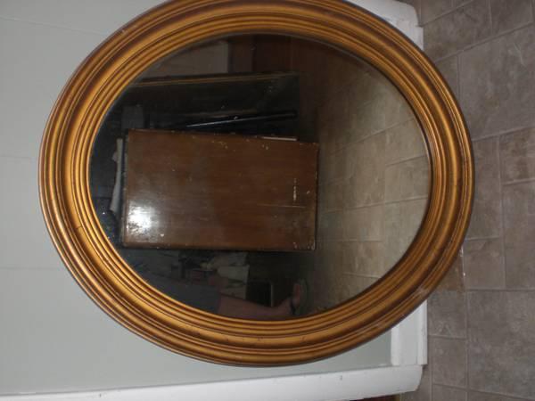 Oval Mirror     $25     View on Craigslist