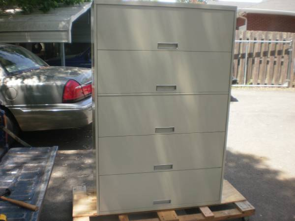 Lateral File Cabinet     $80   Not sure what to do with a lateral file cabinet? Check out this amazing transformation on The Painted Hive on my Pinterest board.    See on Pinterest      View on Craigslist