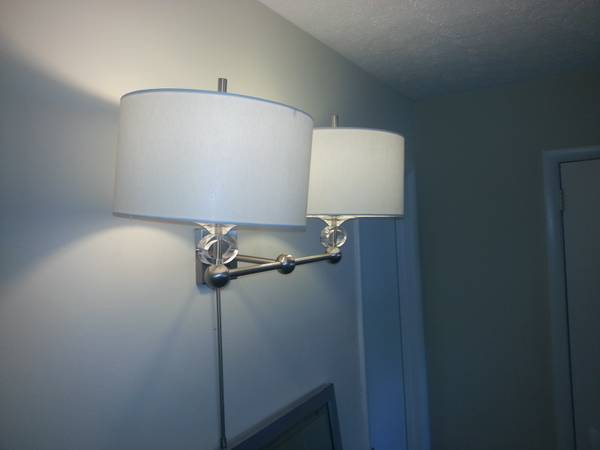 Wall Mounted Lamps     $20   There are 4 available.    View on Craigslist