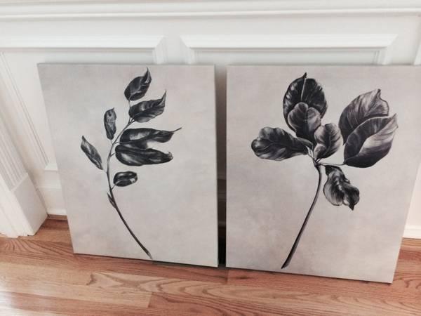 Pair of Canvas Prints     $40     View on Craigslist