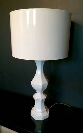 Z Gallerie Abbie Lamp     $100   This lamp retails for $199 at Z Gallerie.    View on Craigslist