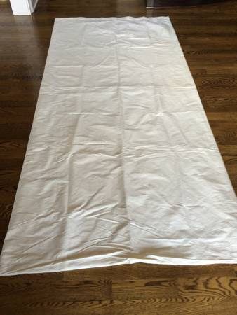 Restoration Hardware Silk Curtains     $60     View on Craigslist
