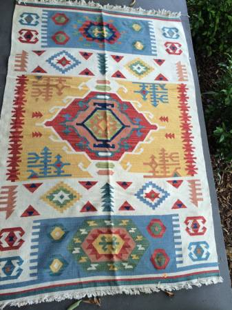 5' x 7' Rug     $75     View on Craigslist