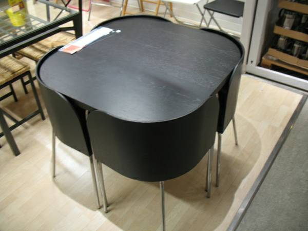 IKEA Fusion Table/Chairs     $150   This table and chairs is perfect for a small space. Retails for $300.    View on Craigslist
