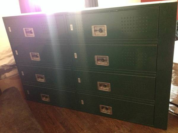 Bank of Eight Lockers     $300     View on Craigslist