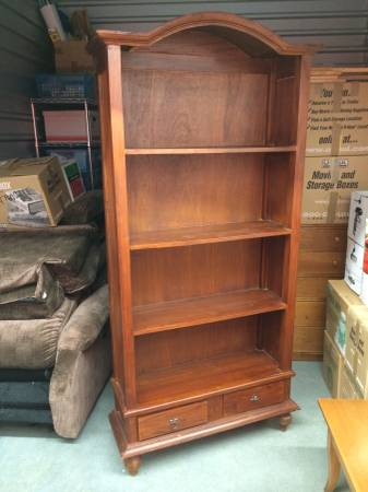 Antique Bookshelf     $50   I like this bookshelf as is but think it would also be pretty painted.    View on Craigslist