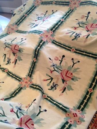 Wool 8' x 10' Rug     $100     View on Craigslist