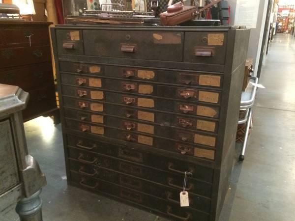 Vintage Industrial Metal Cabinet     $555     View on Craigslist