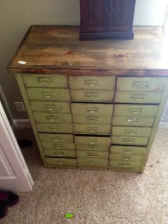 Vintage Metal Cabinet     $380     View on Craigslist