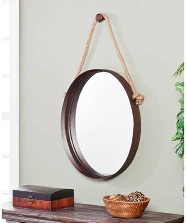 Round Nautical Mirror     $100     View on Craigslist