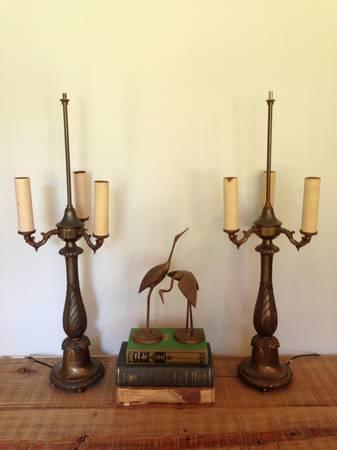 Pair of Vintage Lamps     $60     View on Craigslist