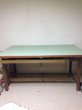 Large Drafting Table     $100     View on Craigslist