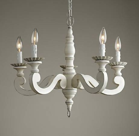 Restoration Hardware Chandelier     $150   This is the Etienne Chandelier from Restoration Hardware and it retails for $250.    View on Craigslist