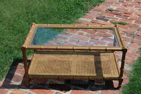 Bamboo Coffee Table     $90     View on Craigslist