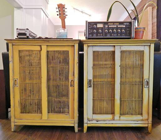 Yellow Cabinets     $120 each     View on Craigslist