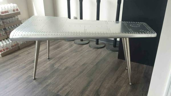 Airplane Desk     $600   This desk retails for $899.    View on Craigslist