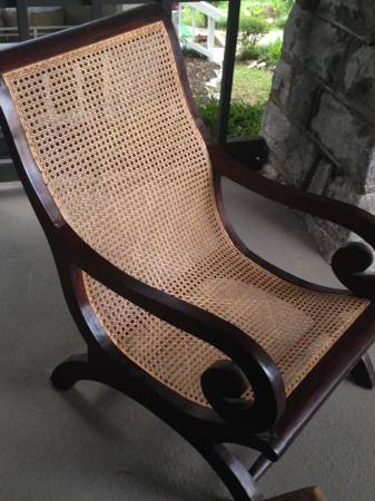 Wood and Cane Chair     $40     View on Craigslist