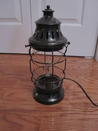 Lantern Lamp     $20     View on Craigslist