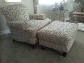 Chair and Ottoman     $150     View on Craigslist