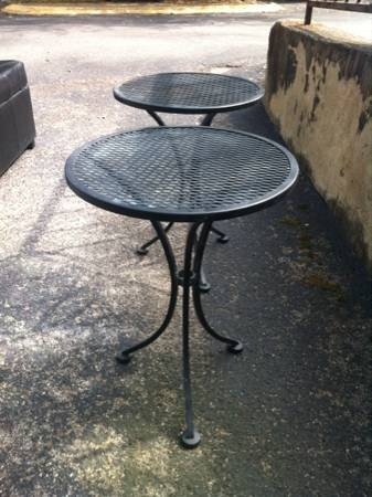 Pair of Patio Tables     $20     View on Craigslist