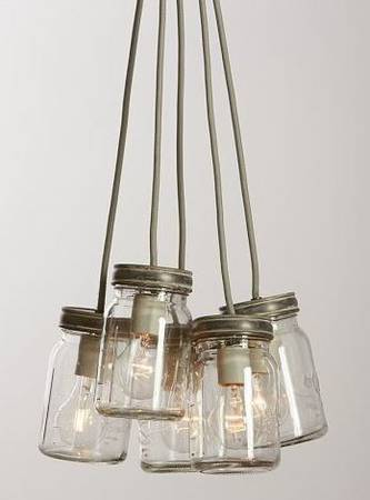 Pottery Barn Mason Jar Pendant     $85   This light fixture is currently on sale for $115 at  Pottery Barn .    View on Craigslist
