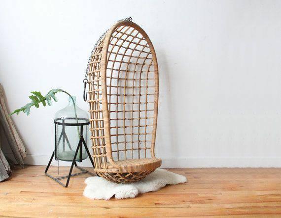 Vintage Hanging Egg Chair     $500     View on Craigslist
