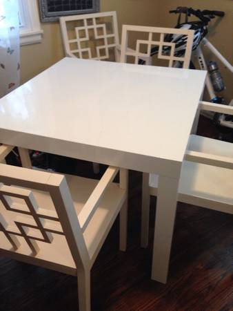West Elm Table and Chairs     $250     View on Craigslist
